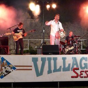 Les Barbeaux pour le festival Villages Sessions 2016