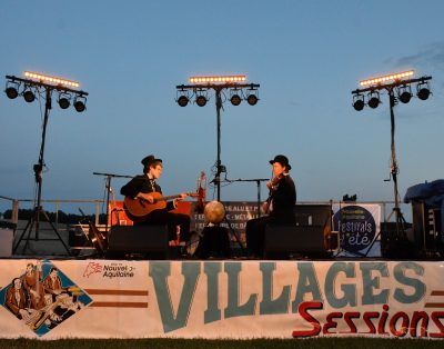 Busker & Keaton pour le festival Villages Sessions 2018